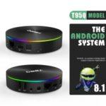 T95Q Quad Core Amlogic S905X2 Android 8.1 TV Box Dual Band WiFi Bluetooth Media Player 4+32GB – EU Plug