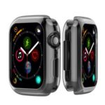 Flexible Soft Silicone Anti-aging Watch Cover for Apple Watch Series 3 / 2 / 1 42mm – Black