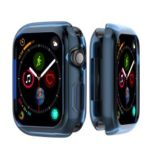 Flexible Soft Silicone Anti-aging Watch Protective Shell for Apple Watch Series 3 / 2 / 1 38mm – Blue