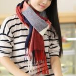 Women's Extra Long Warm Winter Imitation Cashmere Thicken Scarf with Tassels – Style A