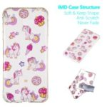 Pattern Printing IMD TPU Case for Samsung Galaxy J4+ J415 / J4 Prime – Unicorn