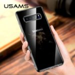 USAMS Primary Color Series Clear TPU Protector Cover for Samsung Galaxy S10 Lite