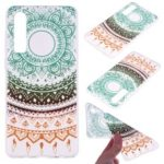 Printing Pattern TPU Mobile Case for Huawei P30 – Colorful Lace