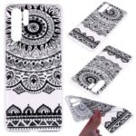 Printing Pattern TPU Mobile Phone Casing for Huawei P30 Pro – Black Lace