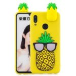 3D Pattern TPU Case for Huawei P Smart (2019) / Honor 10 Lite – Pineapple