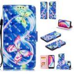 Pattern Printing Light Spot Decor Leather Wallet Case for Huawei P20 Lite / Nova 3e (China) – Vivid Butterfly