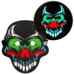 Sound Reactive LED Masks Halloween Glowing Ball Mask – Style 11
