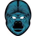 Sound Reactive LED Masks Halloween Glowing Ball Mask – Style 3