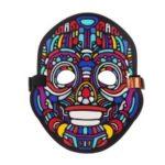 Sound Reactive LED Masks Halloween Glowing Ball Mask – Style 6