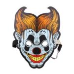 Sound Reactive LED Masks Halloween Glowing Ball Mask – Style 12