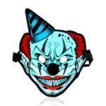 Sound Reactive LED Masks Halloween Glowing Ball Mask – Style 13