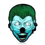 Sound Reactive LED Masks Halloween Glowing Ball Mask – Style 14