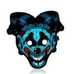 Sound Reactive LED Masks Halloween Glowing Ball Mask – Style 15
