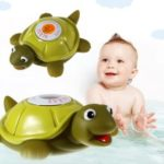 CE/FCC/RoHS/WEEE Certified Floating Baby Bath Toy Safety Temperature Thermometer – Turtle