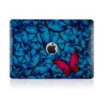 IMD Flower Style Pattern PC Protection Cover for MacBook Pro 13-inch (2016) A1706 A1708 A1989 – Style A