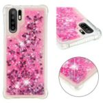 Glitter Powder Quicksand Shockproof TPU Mobile Casing for Huawei P30 Pro – Rose