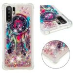 Dynamic Glitter Powder Heart Shaped Sequins TPU Case for Huawei P30 Pro – Feather Dream Catcher