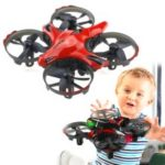 JJRC H56 Throw to Fly Aircraft 2.4GHz RC Drone [Headless Mode / IR Sensing Control] – Red
