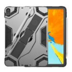 PC+TPU Hybrid Armor Tablet Case with Kickstand for iPad Pro 11-inch (2018) – Grey