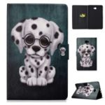 Patterned PU Leather Flip Case Cover for Samsung Galaxy Tab A 10.1 (2016) – Dog