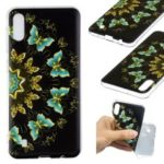 Pattern Printing Soft TPU Phone Case for Samsung Galaxy M10 – Colorized Butterflies