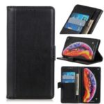 Wallet Stand Leather Cell Phone Cover for Samsung Galaxy M10 – Black