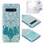 Embossed Pattern 3D Diamond Surface TPU Mobile Phone Cover for Samsung Galaxy S10 Plus – Mandala