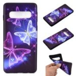 Pattern Printing Soft TPU Mobile Cover for Samsung Galaxy S10 Plus – Pretty Butterflies