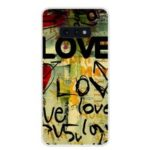 Pattern Printing TPU Back Case for Samsung Galaxy S10e – LOVE Pattern