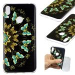 Pattern Printing TPU Case for Huawei Y7 (2019) – Colorized Butterfly