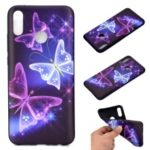 Pattern Printing Soft TPU Mobile Cover for Huawei Honor 8A – Pretty Butterflies