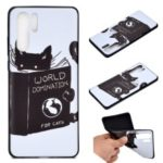 Pattern Printing Flexible TPU Gel Protection Cover for Huawei P30 Pro – World Domination for Cats