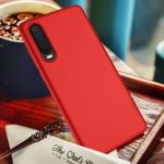 X-LEVEL Ultra-thin Matte TPU Phone Case Cover for Huawei P30 – Red