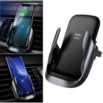 ROCK W23 QI Wireless Charge Car Mount Phone Holder Support FOD Function