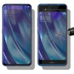 HAT PRINCE for vivo NEX Dual Display 2.5D 0.26mm 9H Front+Back Anti-Peep Tempered Glass Screen Protector Film