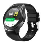 DM369 1GB+16GB Android 7.1 Smart 4G Watch Phone Heart Rate/Blood Pressure Monitor – Black