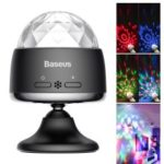 BASEUS Rotary Voice Control Car Crystal Magic Ball Light – Black