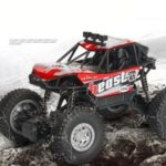 20km/h 1:20 2.4G Electric Off-Road Vehicle Remote Racing Car RC A601 – Red