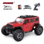 SUBOTECH BG1521 1:14 2.4GHz Four-wheel Monster Hummer Car Toy – Red
