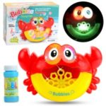 Creative Bath Shower Crab Bubble Machine Light Music Bubble Maker Bath Child Toy
