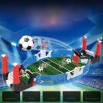 Football Field Soccer Building Blocks Table Game Mini Table Children Interactive Board Toy
