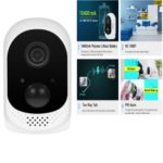 ESCAM QF230 1080P P2P IR 10400mAh Battery WIFI PIR Alarm IP Camera