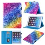 Patterned Leather Stand Smart Flip Case for iPad mini (2019) 7.9 inch – Colorful Diamond