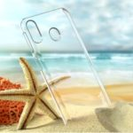 IMAK Crystal Case II Anti-abrasion Clear Phone Back Case with Screen Protector Guard Film for Samsung Galaxy M20