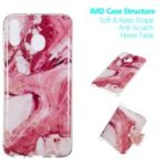 Marble Pattern IMD TPU Back Case for Samsung Galaxy M20 – Style A