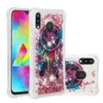 Liquid Glitter Powder Patterned Quicksand Shockproof TPU Mobile Case for Samsung Galaxy M20 – Colorful Dream Catcher