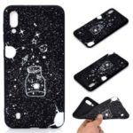Matte Pattern Printing TPU Soft Mobile Cover for Samsung Galaxy M10 – Wishing Bottle