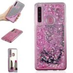 Glitter Dynamic Quicksand Mirror Surface TPU Case for Samsung Galaxy A9 (2018) / A9 Star Pro / A9s – Pink