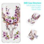 Noctilucent IMD TPU Case for Samsung Galaxy M30 – Flowered Elk