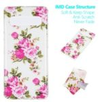IMD Patterned Luminous TPU Back Case for Samsung Galaxy S10 5G – Blooming Flower